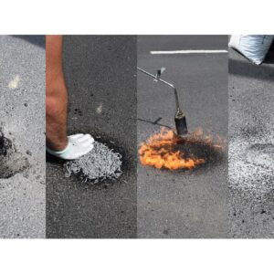 Asphalt repair kit ChipFill® 12 kg
