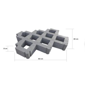 Grass tile – recycled plastic