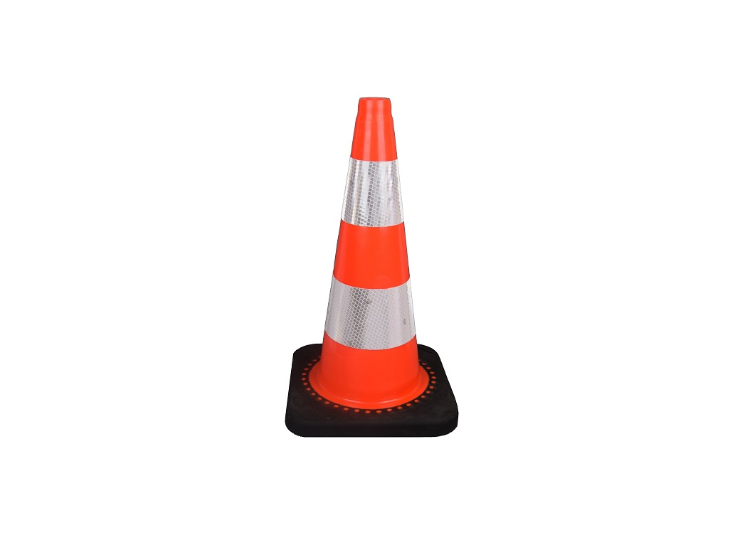 traffic cone 50 cm with weighted base