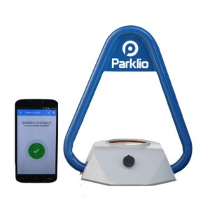 product photo Parklio parking bracket and smartphone v1