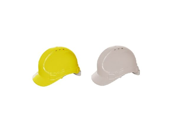 safety helmet with turnlock closure