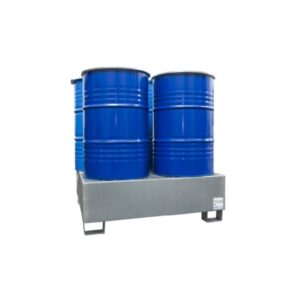 metal sump tray 4barrels 200l