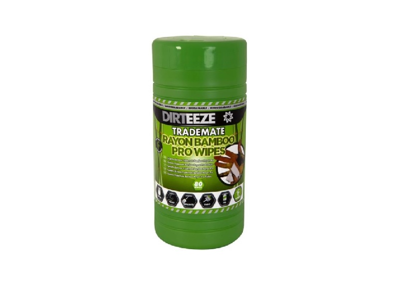 Desinfection wipes - bamboo - 80 pieces - tube