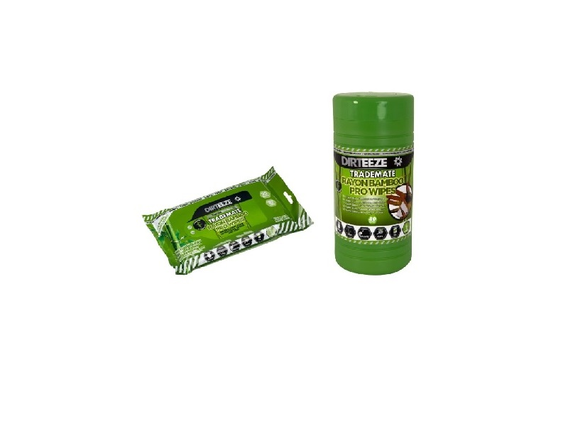 Desinfection wipes - bamboo - 25 and 80 pieces