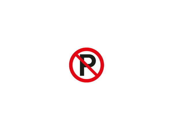 Icon sign - no parking