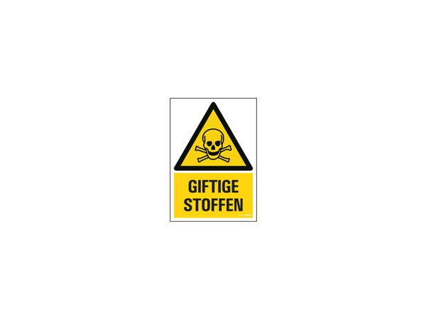 Icon sign - NL - toxic substances